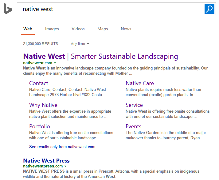 Native West SEO